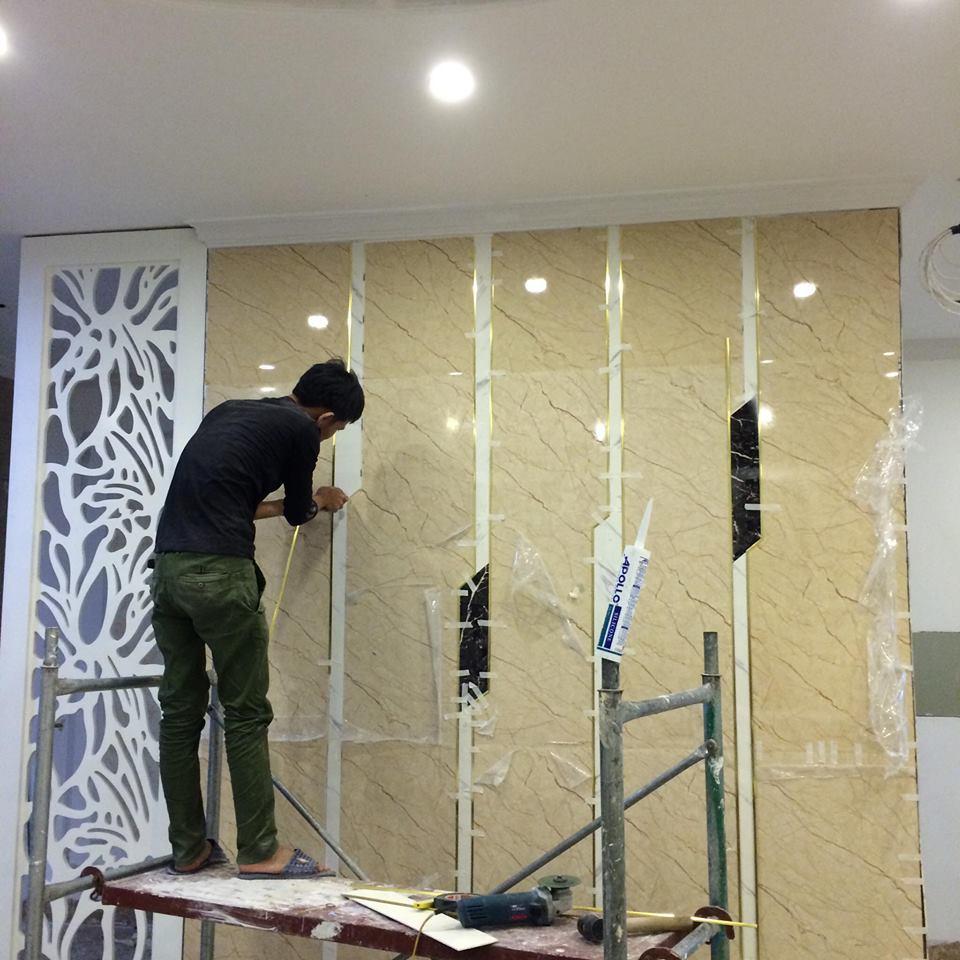 Tấm ốp tường PVC công dụng và giá thành hiện nay