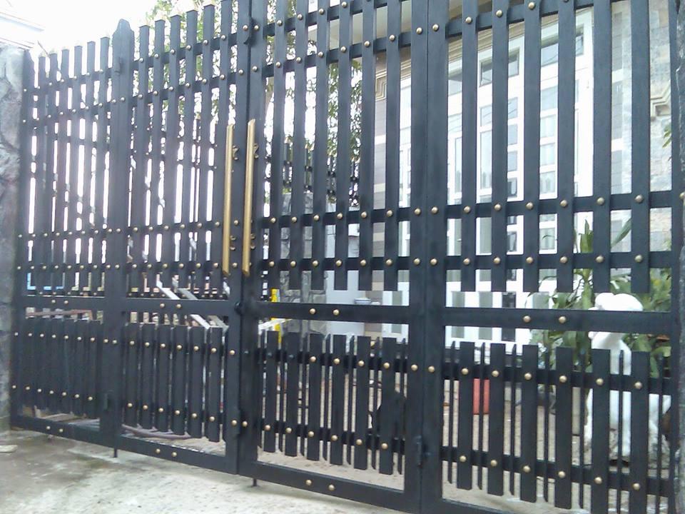 Lắp đặt hàng rào sắt chống trộm quận 5