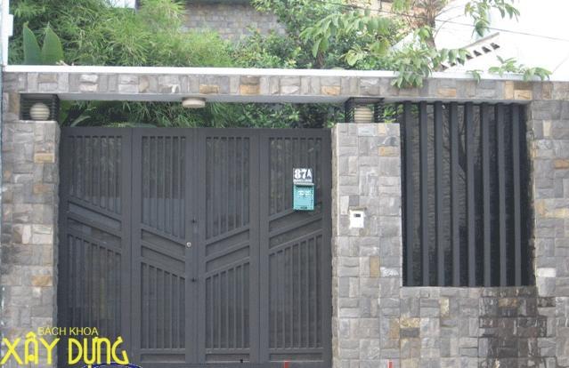 Làm cửa sắt, cầu thang sắt tại quận 4 / 0936890585