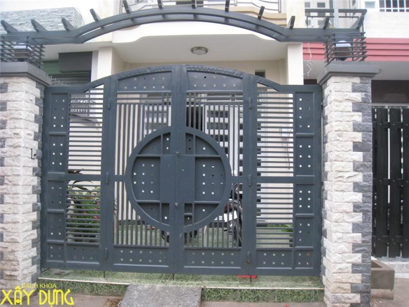 Làm cửa sắt, cầu thang sắt tại quận 2/ 0936890585
