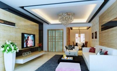 Mẫu thạch cao phòng khách thiết kế đẹp