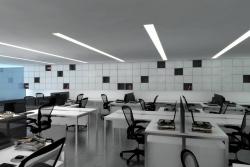 Mẫu thạch cao office văn phòng thiết kế đẹp